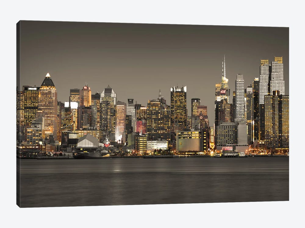 New York IV by Assaf Frank 1-piece Canvas Art