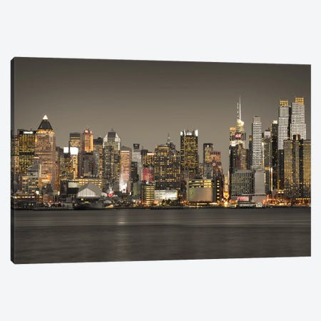 New York IV 3-Piece Canvas #AFR112} by Assaf Frank Canvas Artwork