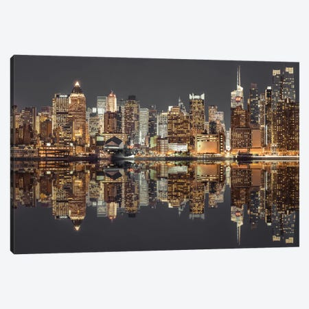 New York V 3-Piece Canvas #AFR113} by Assaf Frank Canvas Artwork