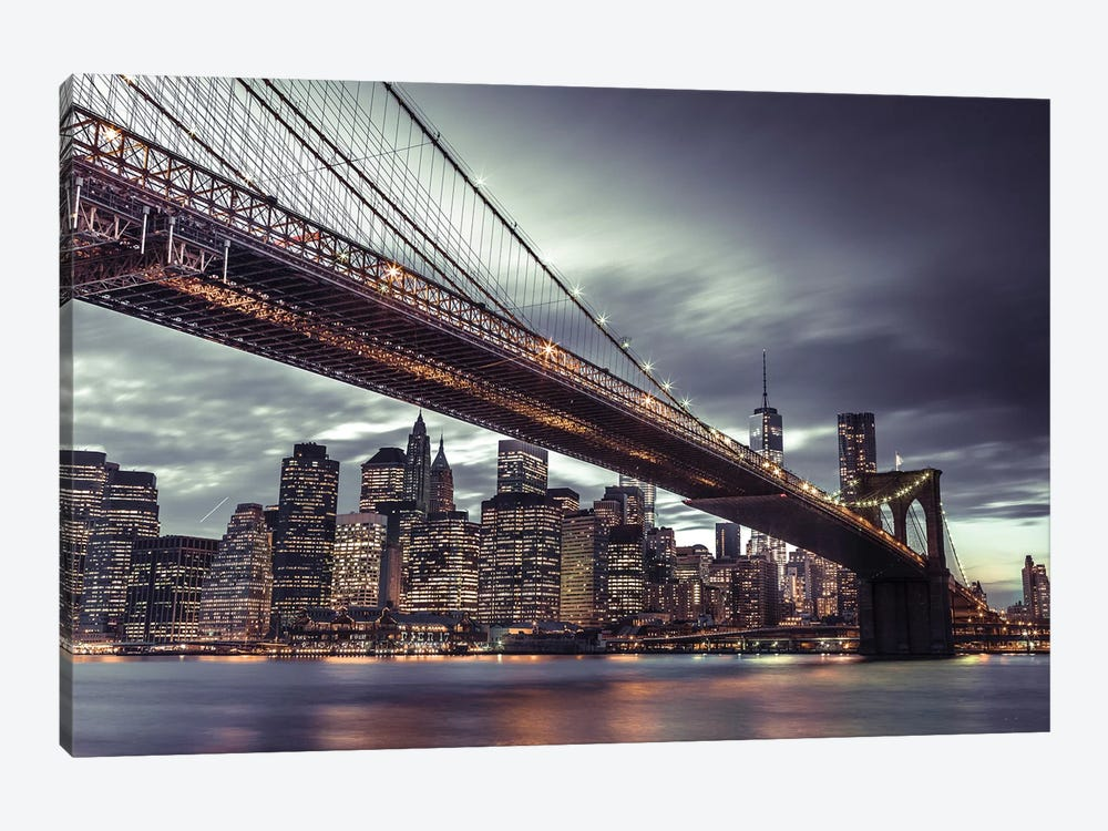 New York VII by Assaf Frank 1-piece Canvas Art Print