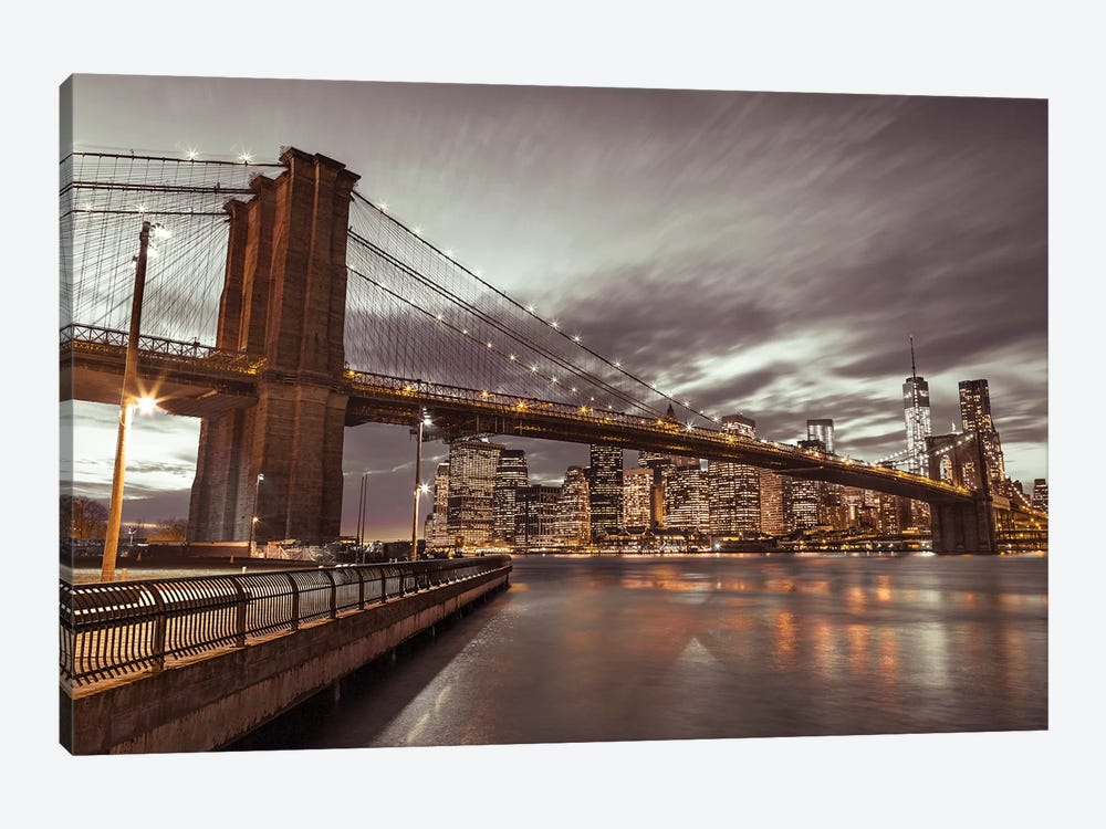 New York IX 1-piece Canvas Print
