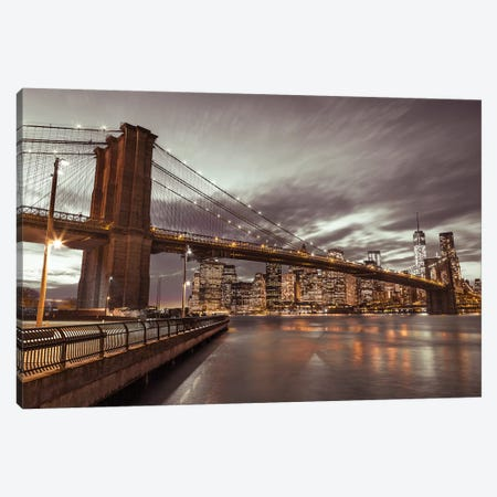 New York IX 3-Piece Canvas #AFR117} by Assaf Frank Canvas Print