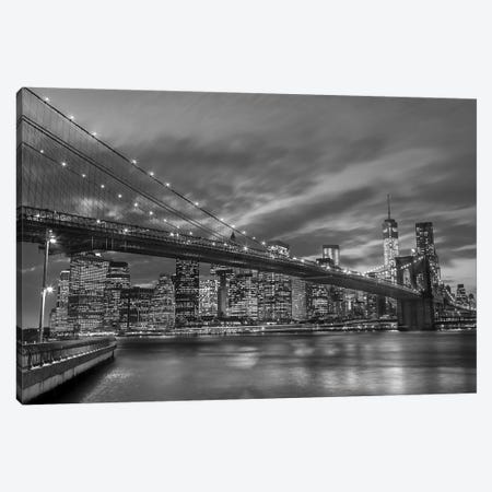 New York X Canvas Print #AFR118} by Assaf Frank Canvas Wall Art
