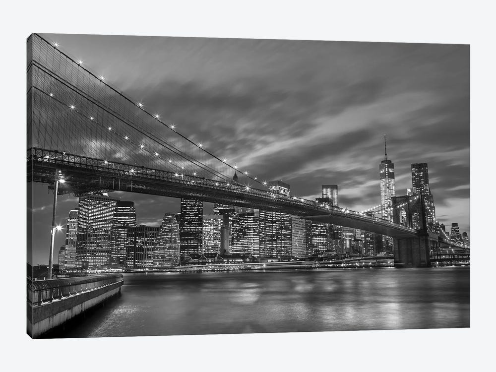 New York X by Assaf Frank 1-piece Canvas Art