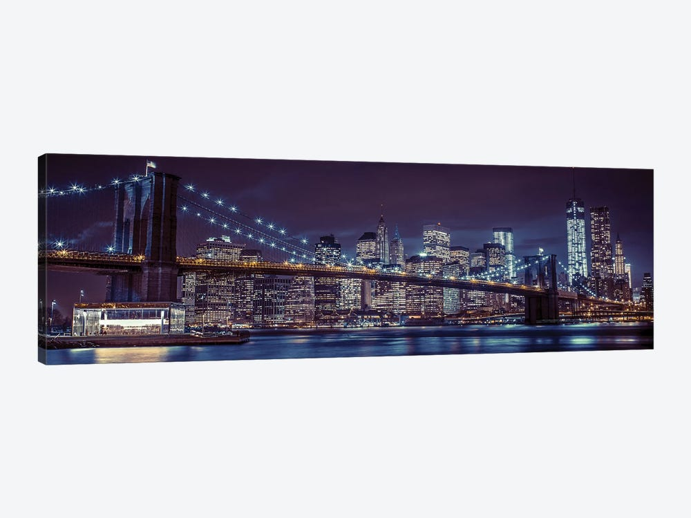 New York XII by Assaf Frank 1-piece Canvas Art Print