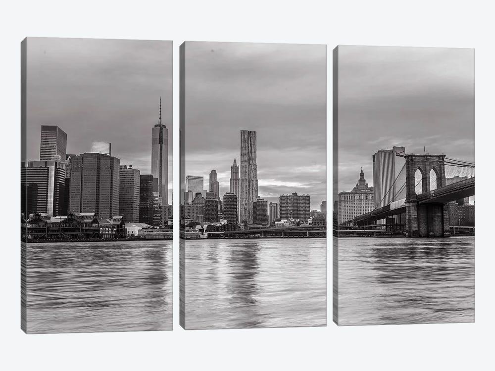 New York XIII by Assaf Frank 3-piece Canvas Art
