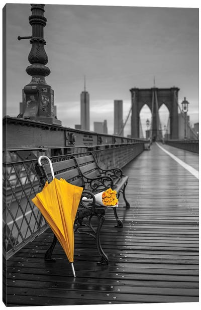 New York XV Canvas Art Print