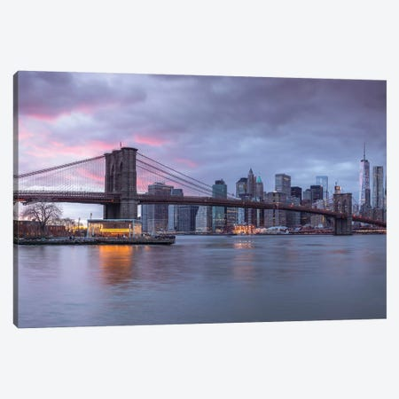 New York XVI Canvas Print #AFR124} by Assaf Frank Canvas Art