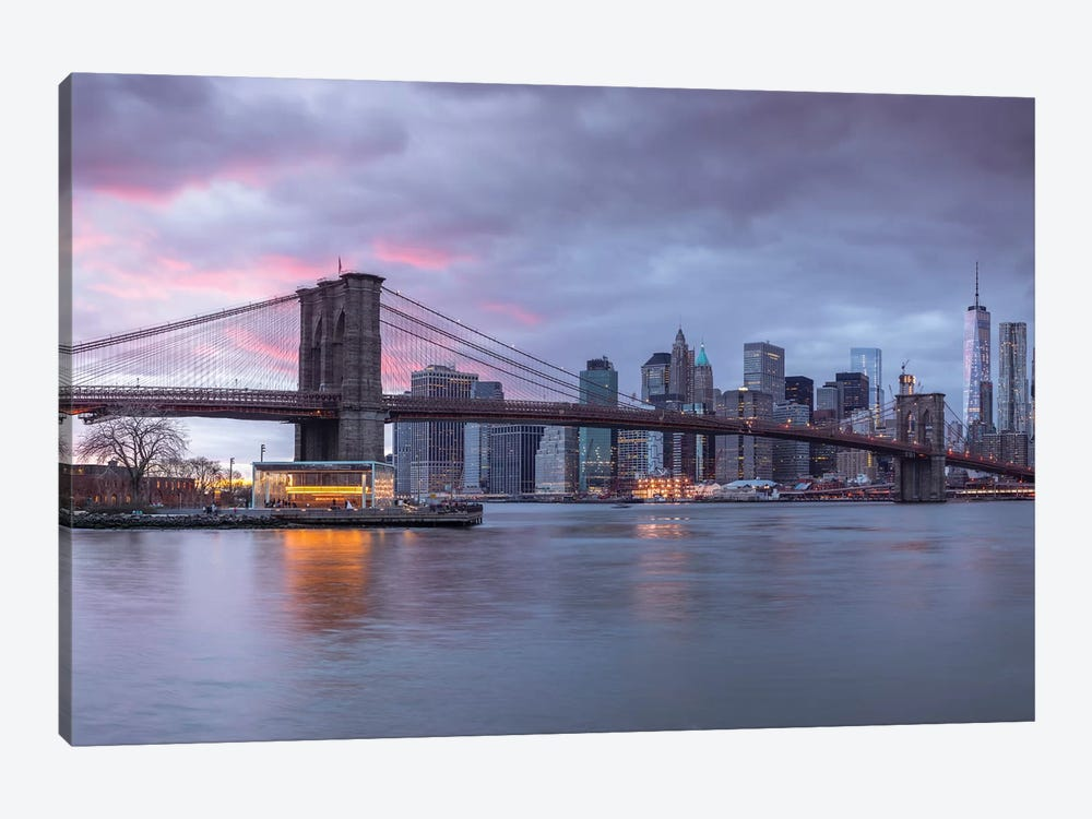 New York XVI by Assaf Frank 1-piece Canvas Art Print
