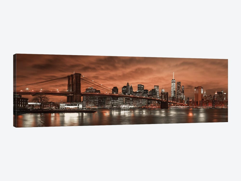 New York XIX by Assaf Frank 1-piece Canvas Artwork