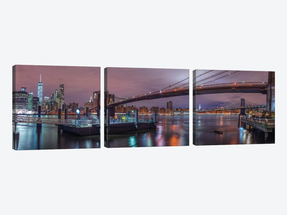 New York XX by Assaf Frank 3-piece Art Print