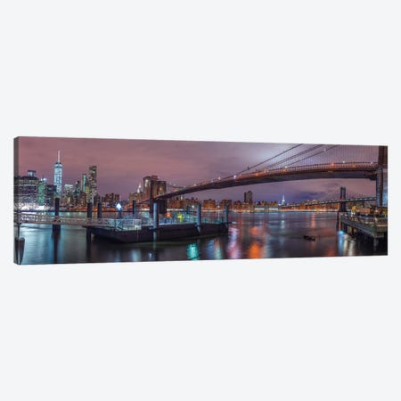 New York XX 3-Piece Canvas #AFR128} by Assaf Frank Art Print