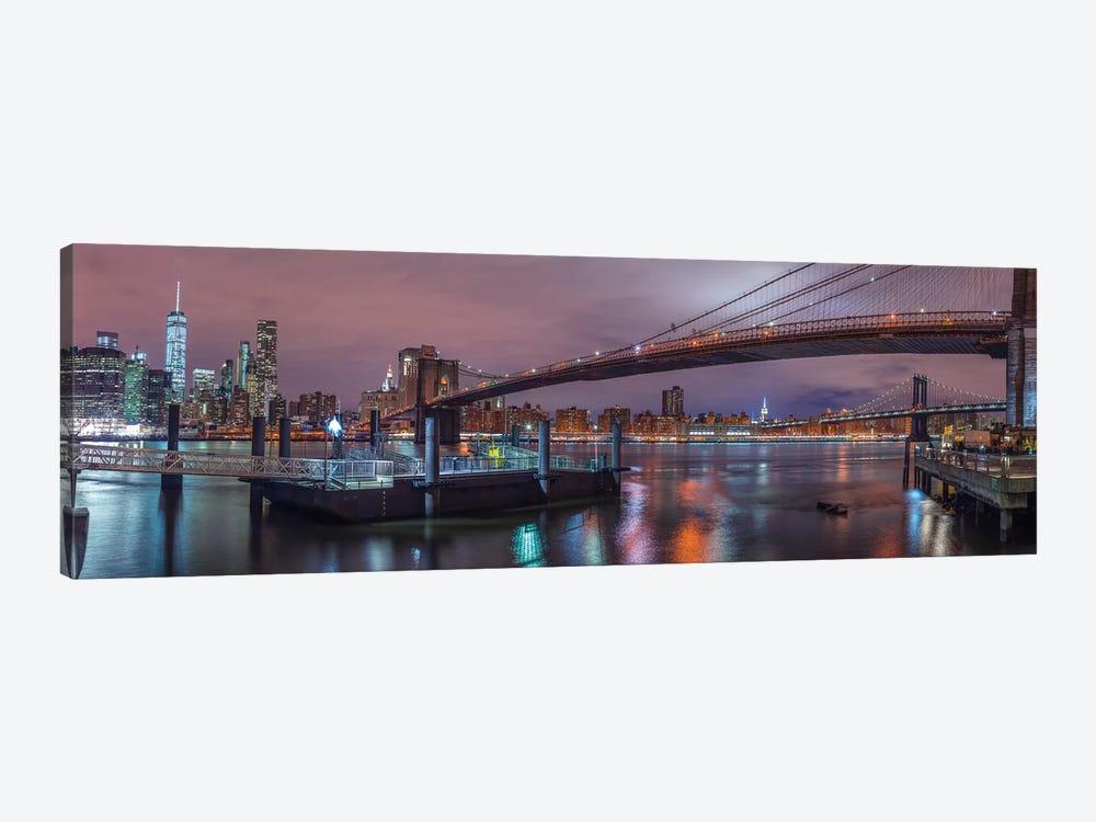 New York XX by Assaf Frank 1-piece Canvas Art Print