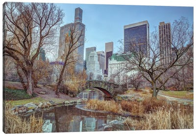 New York XXI Canvas Art Print