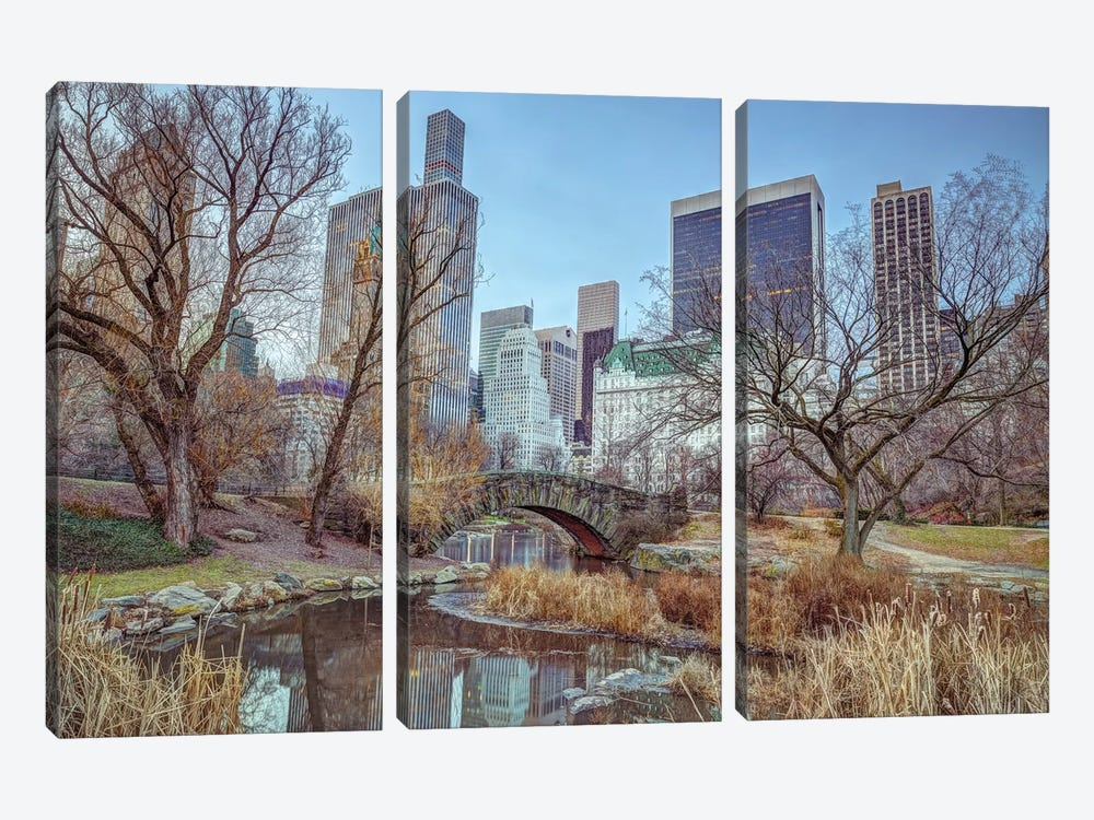 New York XXI by Assaf Frank 3-piece Canvas Art