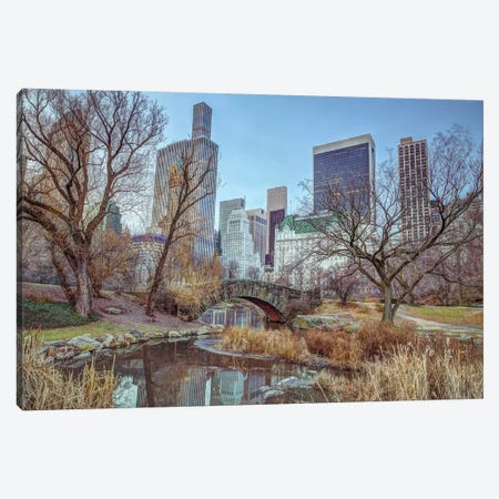 New York XXI 3-Piece Canvas #AFR129} by Assaf Frank Canvas Print