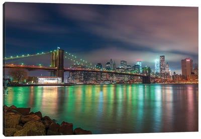 New York XXIV Canvas Art Print