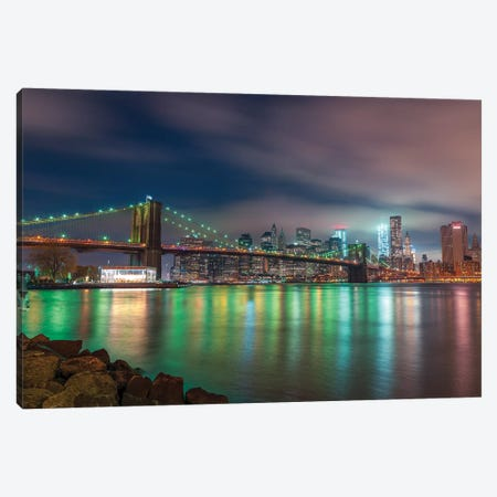 New York XXIV 3-Piece Canvas #AFR132} by Assaf Frank Canvas Artwork