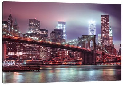 New York XXV Canvas Art Print