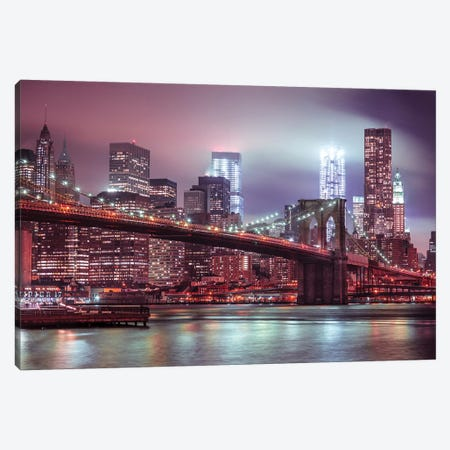 New York XXV 3-Piece Canvas #AFR133} by Assaf Frank Canvas Wall Art