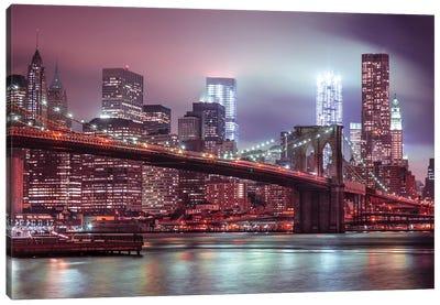 New York XXV Canvas Art Print