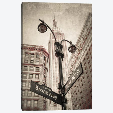 New York XXVI Canvas Print #AFR134} by Assaf Frank Canvas Art Print