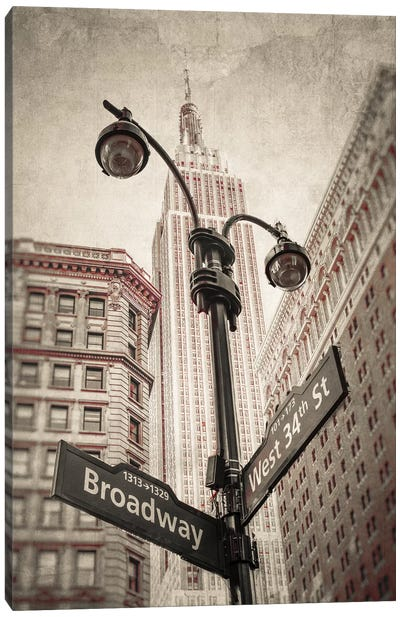 New York XXVI Canvas Art Print