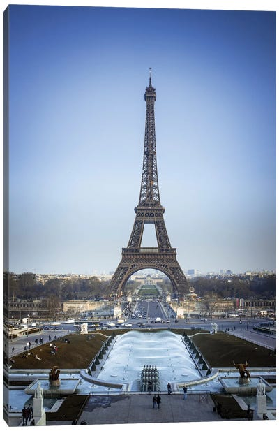 Paris II Canvas Art Print