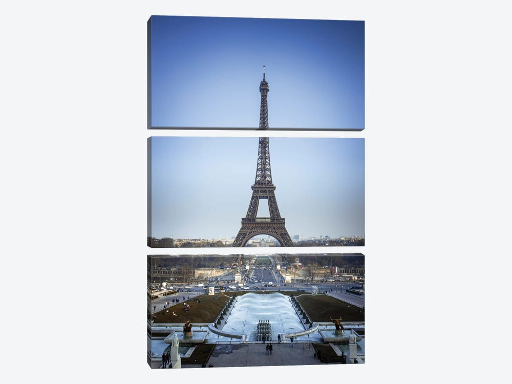 Paris II by Assaf Frank 3-piece Art Print