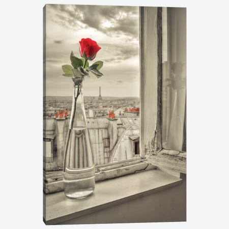 Paris IV Canvas Print #AFR139} by Assaf Frank Canvas Artwork