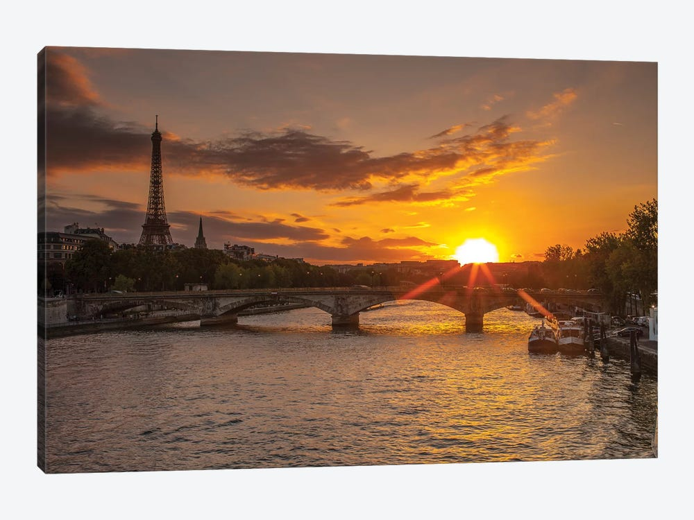 Paris V by Assaf Frank 1-piece Canvas Print