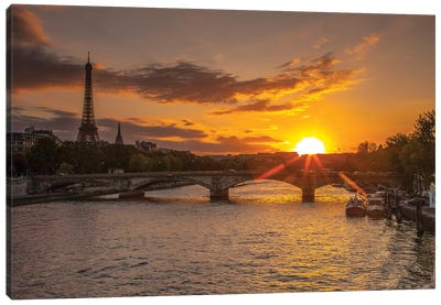 Paris V Canvas Art Print