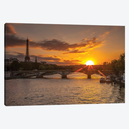 Paris V Canvas Print #AFR140} by Assaf Frank Art Print