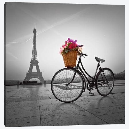 Paris VII 3-Piece Canvas #AFR142} by Assaf Frank Canvas Art Print