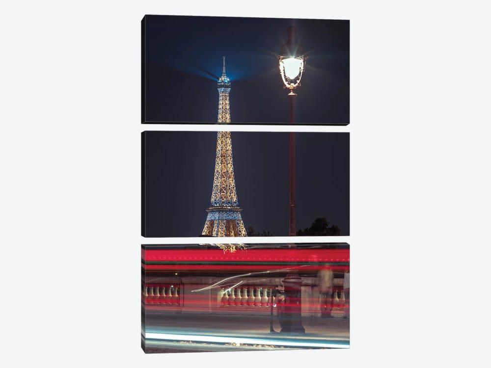 Paris VIII by Assaf Frank 3-piece Canvas Wall Art