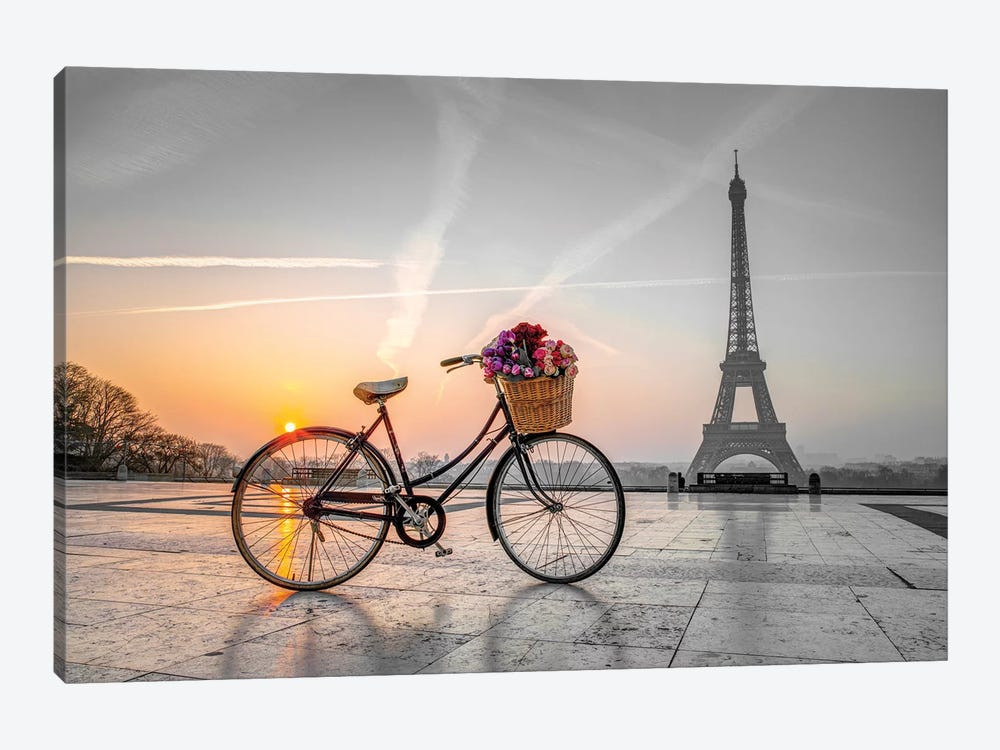 Paris IX 1-piece Canvas Print
