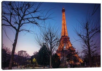 Paris X Canvas Art Print