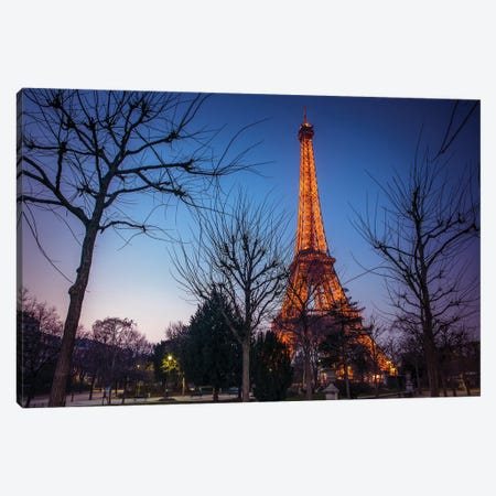 Paris X Canvas Print #AFR145} by Assaf Frank Canvas Artwork