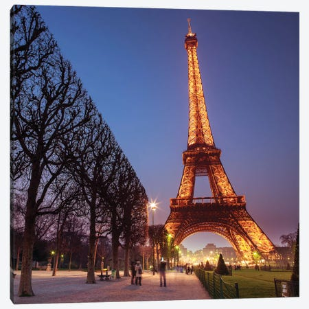 Paris XI Canvas Print #AFR146} by Assaf Frank Canvas Artwork