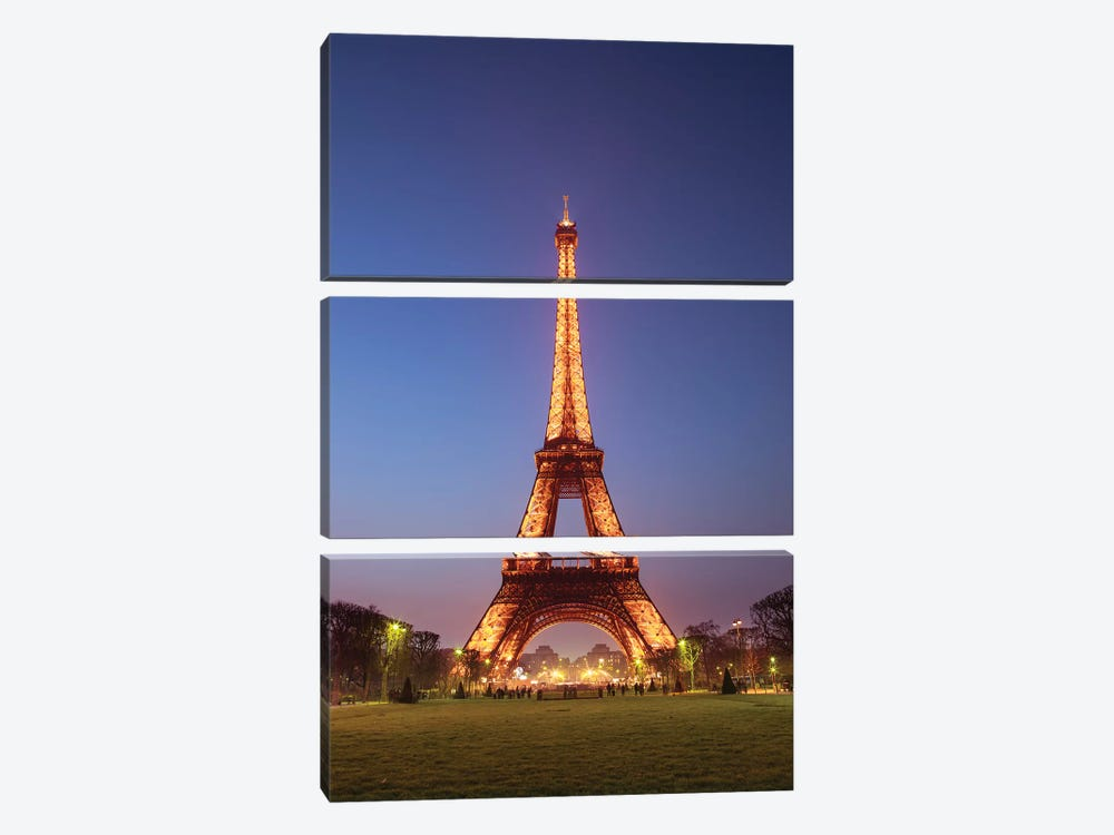 Paris XIII by Assaf Frank 3-piece Canvas Print