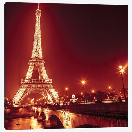 Paris XV Canvas Print #AFR150} by Assaf Frank Canvas Artwork