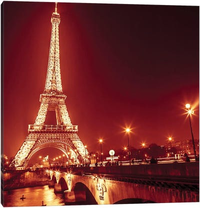 Paris XV Canvas Art Print
