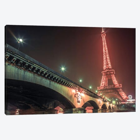 Paris XVI 3-Piece Canvas #AFR151} by Assaf Frank Canvas Wall Art