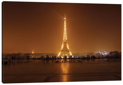 Paris XVII Canvas Art Print