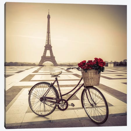 Paris XVIII Canvas Print #AFR153} by Assaf Frank Canvas Wall Art