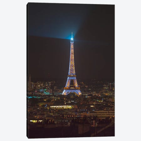 Paris XX Canvas Print #AFR155} by Assaf Frank Art Print