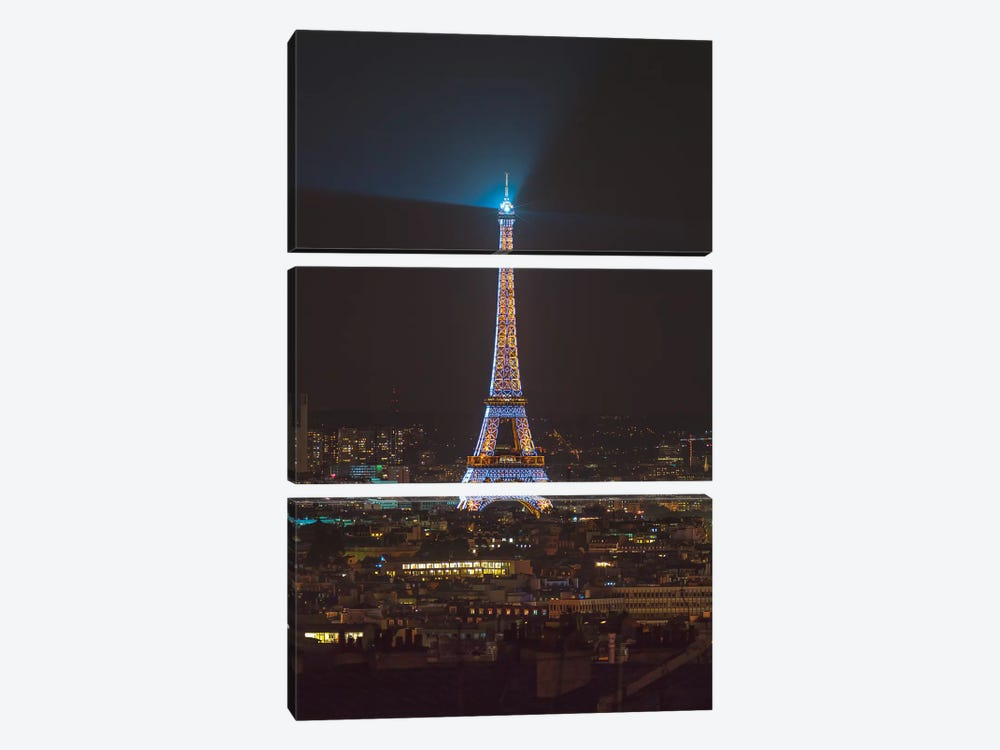Paris XX 3-piece Canvas Print