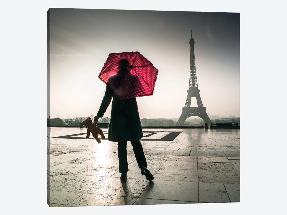 Paris XXI by Assaf Frank 1-piece Canvas Artwork