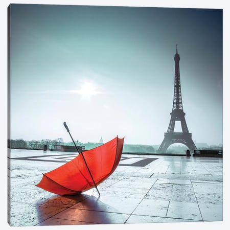Paris XXII 3-Piece Canvas #AFR157} by Assaf Frank Art Print