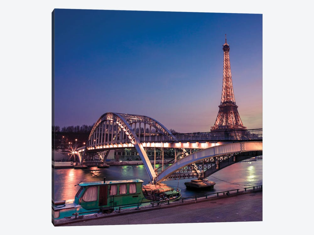 Paris XXIII by Assaf Frank 1-piece Canvas Art